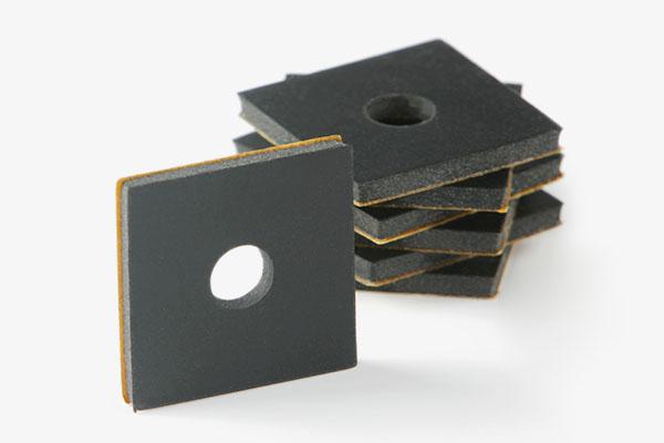 EPDM-Plättchen zur galvanischen Trennung